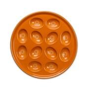 Fiesta Egg Tray; Tangerine