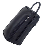 Mercury Luggage Sondrio Leather Shoe Bag; Black