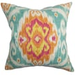 The Pillow Collection Deandre Cotton Pillow; Flame