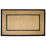Creative Accents DirtBuster Single Picture Frame Doormat; 24'' H x 57'' W x 1'' D