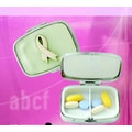 Budd Leather Pearl Rectangular Pill Case