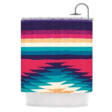 KESS InHouse Surf Shower Curtain