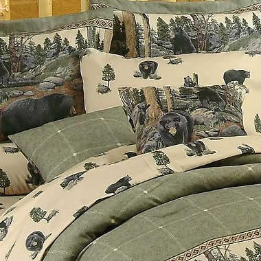 Blue Ridge Trading The Bears Cotton Throw Pillow