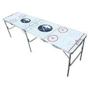 Tailgate Toss NHL 2'' x 8'' Tailgate Table; Buffalo Sabres