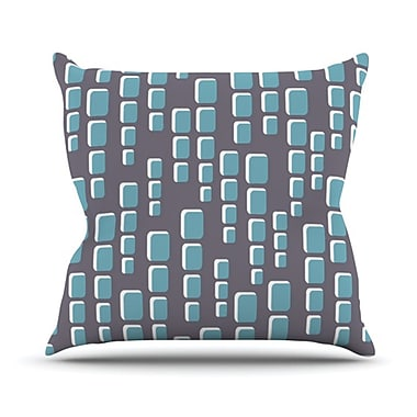 KESS InHouse Cubic Geek Chic Throw Pillow; 20'' H x 20'' W
