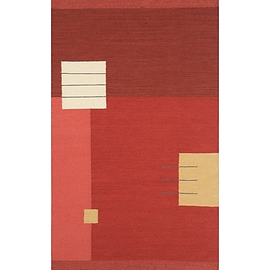 Continental Rug Company Nouveau Light Red Area Rug; 8' x 11'