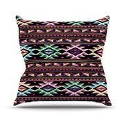 KESS InHouse AylenThrow Pillow; 18'' H x 18'' W