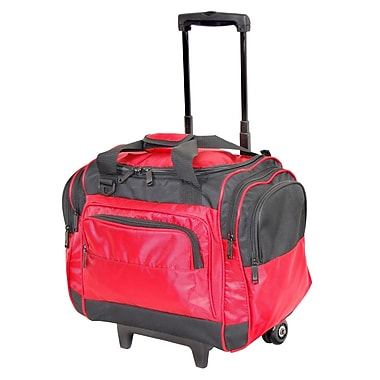 Netpack 17'' 2-Wheeled Easy Carry-On Duffel; Red