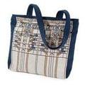 Rennie & Rose Design Group Frank Lloyd Wright Waterlilies Unlined Shoulder Tote Bag