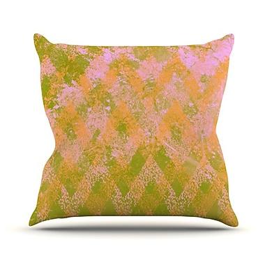 KESS InHouse Fuzzy Feeling Throw Pillow; 18'' H x 18'' W
