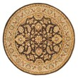 Continental Rug Company Meadow Breeze Brown/Light Spruce Rug; Round 8'