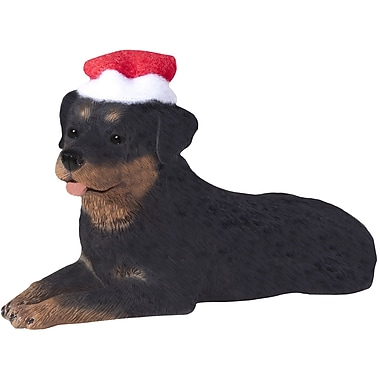 Sandicast Rottweiler Christmas Tree Ornament