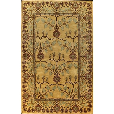Bashian Rugs Essex Gold Area Rug; 8'6'' x 11'6''