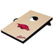 Tailgate Toss NCAA Table Top Bean Bag Toss Game; Arkansas