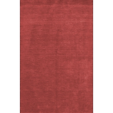 Bashian Rugs Fulham Red Area Rug; 7'6'' x 9'6''