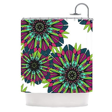 KESS InHouse Bright Shower Curtain