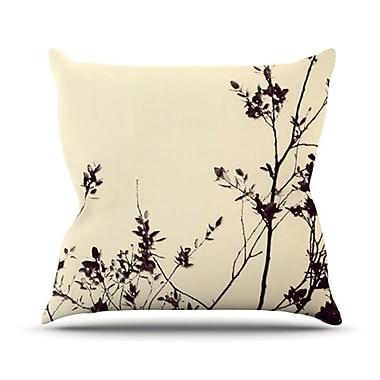 KESS InHouse Silhouette Throw Pillow; 20'' H x 20'' W