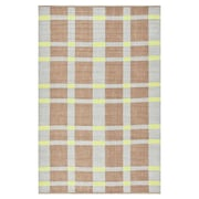 Thom Filicia Rugs Thom Filicia Saddle Lawn Green/Brown Indoor/Outdoor Rug; 5' x 8'
