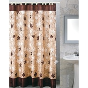 Carnation Home Fashions Karen Shower Curtain