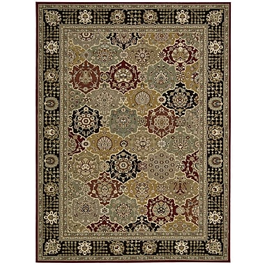 Nourison Persian Crown Gray Area Rug; 5'3'' x 7'4''
