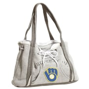 Little Earth ,MLB Hoodie Purse Tote Bag; Milwaukee Brewers