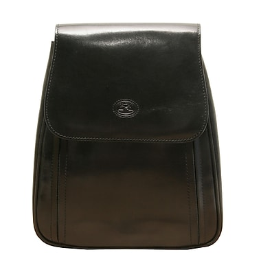 Tony Perotti Italico Imperia Italian Backpack; Black