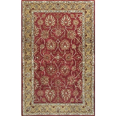 Bashian Rugs Essex Red Area Rug; Runner 2'6'' x 8'
