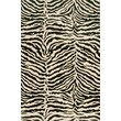 Bashian Rugs Norwalk Black/Ivory Animal Print Area Rug; 7'9'' X 9'9''