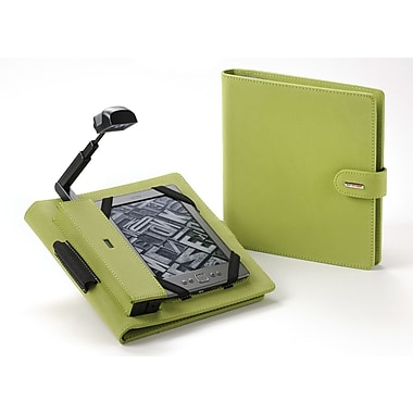 Periscope  Cover+Light Folio for Kindle Wi-Fi, Kindle Touch, and nook Simple Touch; Apple Green