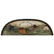 York Wallcoverings Portfolio II Welcome Friends Country Arch Accent Wall Mural