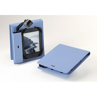 Periscope Cover⸨ Flip for Kindle Wi-Fi, Kindle Touch, and nook Simple Touch; Steel Blue