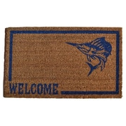 Imports Decor Swordfish Doormat; 30'' x 18''