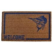 Imports Decor Molded Swordfish Doormat; 30'' x 18''