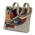 Rennie & Rose Design Group Frank Lloyd Wright March Balloons Unlined Shoulder Tote Bag