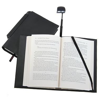 Periscope  Hardcover Book Light in a Book Cover; Black