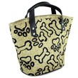 Park B Smith Ltd PB Paws & Co. Small Puppy Paws Tapestry Tote Bag