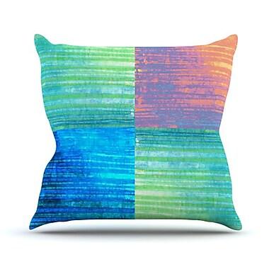 KESS InHouse C BatikThrow Pillow; 26'' H x 26'' W