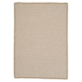 Colonial Mills Outdoor Houndstooth Tweed Cuban Sand Rug; 4' x 6'