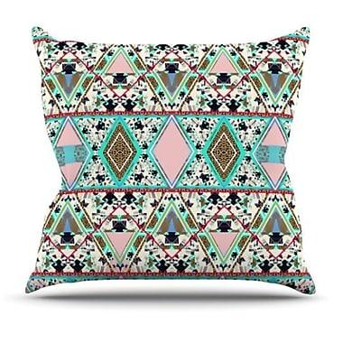KESS InHouse Deco Hippie Throw Pillow; 26'' H x 26'' W