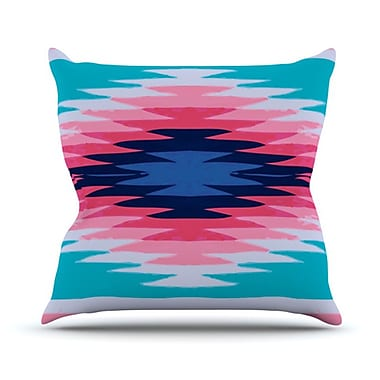 KESS InHouse Surf Lovin II Throw Pillow; 26'' H x 26'' W