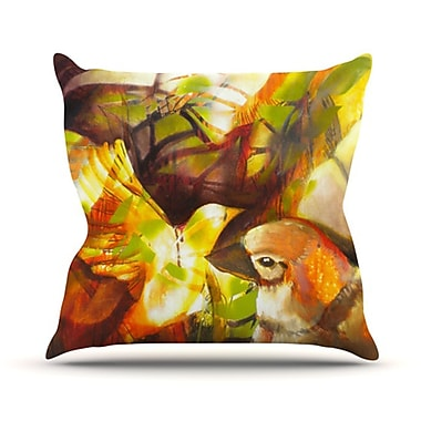 KESS InHouse Memory Throw Pillow; 20'' H x 20'' W