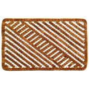Imports Decor Twisted Spiral Diagonal Doormat; 16'' x 24''