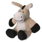 Go Dog Checkered Donkey Dog Toy; 6'' H x 8'' W x 7.5'' D