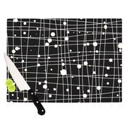 KESS InHouse Woven Web Mono Cutting Board; 11.5'' H x 15.75'' W x 0.15'' D