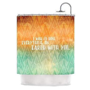 KESS InHouse Deco II Shower Curtain
