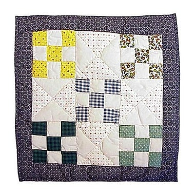 Patch Magic Country Vine Cotton Throw Pillow
