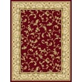 Central Oriental Radiance Crimson/Wheat Felix Stair Treads