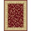 Central Oriental Radiance Crimson/Wheat Felix Stair Treads