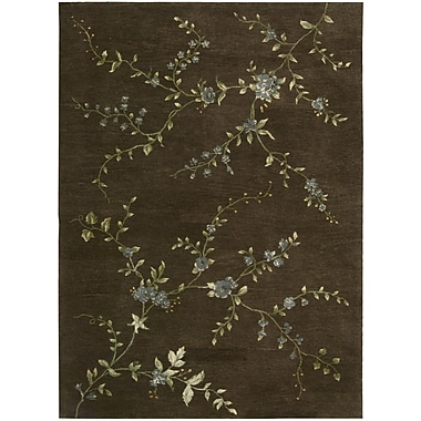 Nourison Modern Elegance Brown Rug; 3'6'' x 5'6''