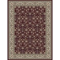 Central Oriental Royal Emporer Red Rug; 7'10'' x 11'2''